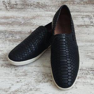 ⚂Joie Black Slip On Sneakers